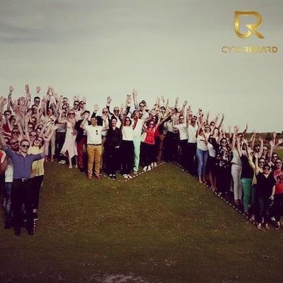Rassemblement lors d'un Team Building Reims